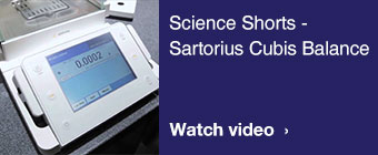 Sartorius Cubis balances video