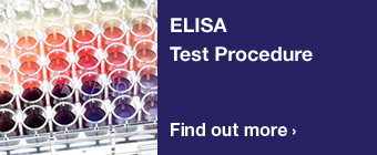 ELISA test procedure